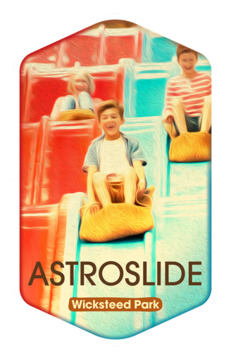 Astroslide - Wicksteed Park Rides and a Attractions