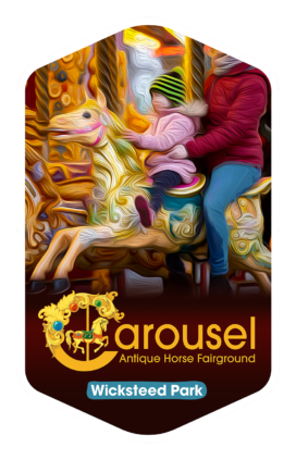 Carousel - Wicksteed Park Rides and a Attractions