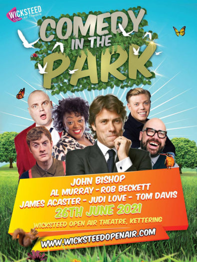 Comedy In The Park at Wicksteed park