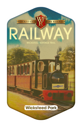 Wicksteed Park Railway - Wicksteed Park Rides and a Attractions