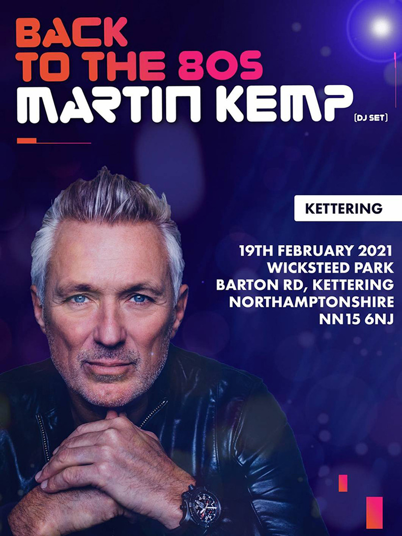 Back to the 80s - Martin Kemp- Wicksteed Park