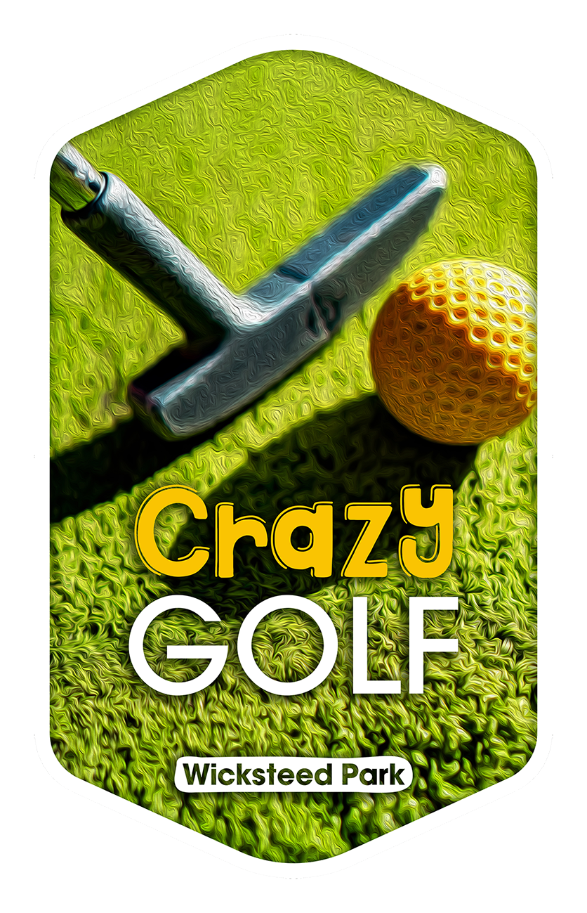 Crazy Golf - Wicksteed Park Rides and a Attractions
