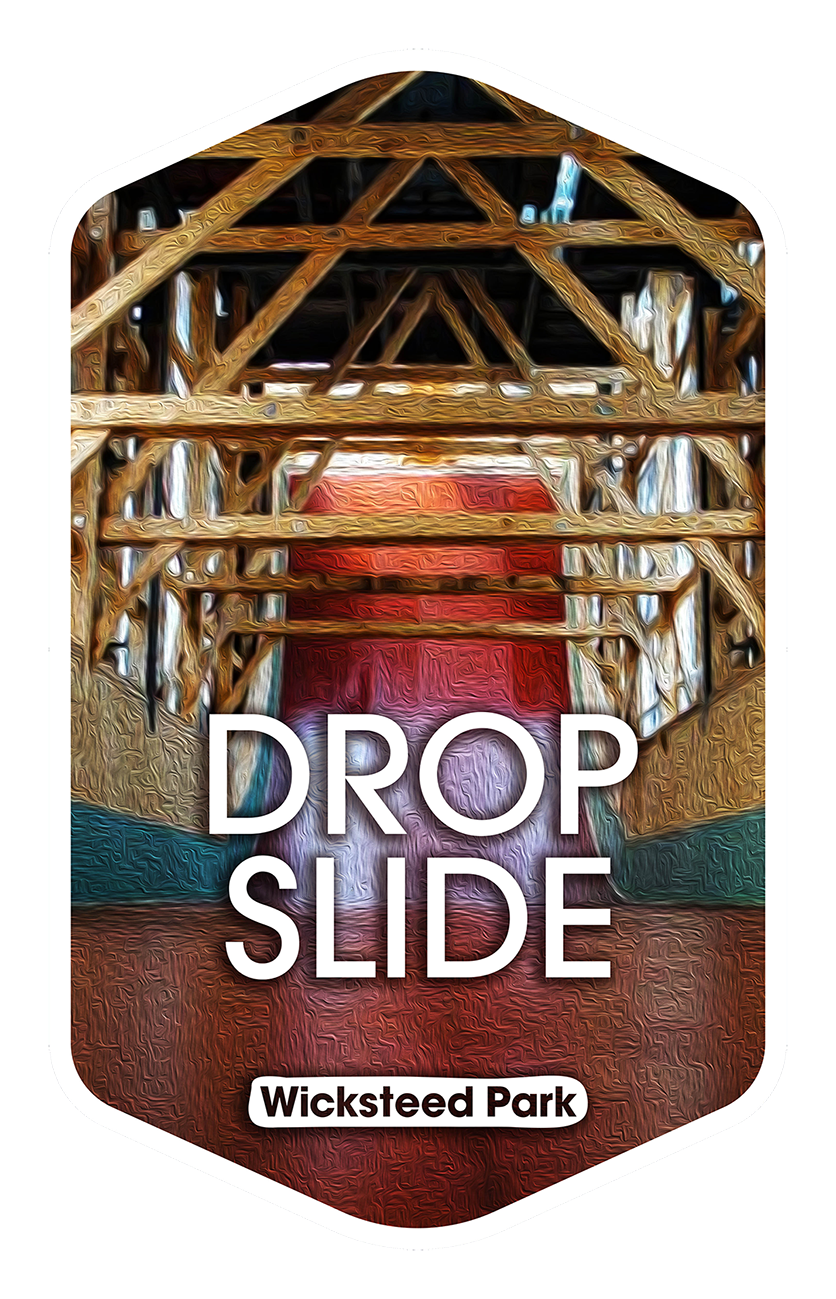 Drop Slide - Wicksteed Park Rides and a Attractions