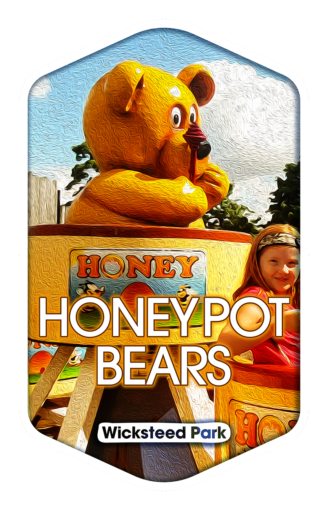 Honeypot Bears - Wicksteed Park Rides and a Attractions