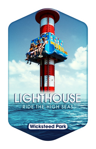 Lighthouse - Wicksteed Park Rides and a Attractions