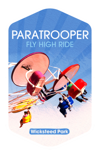 Paratrooper - Wicksteed Park Rides and a Attractions