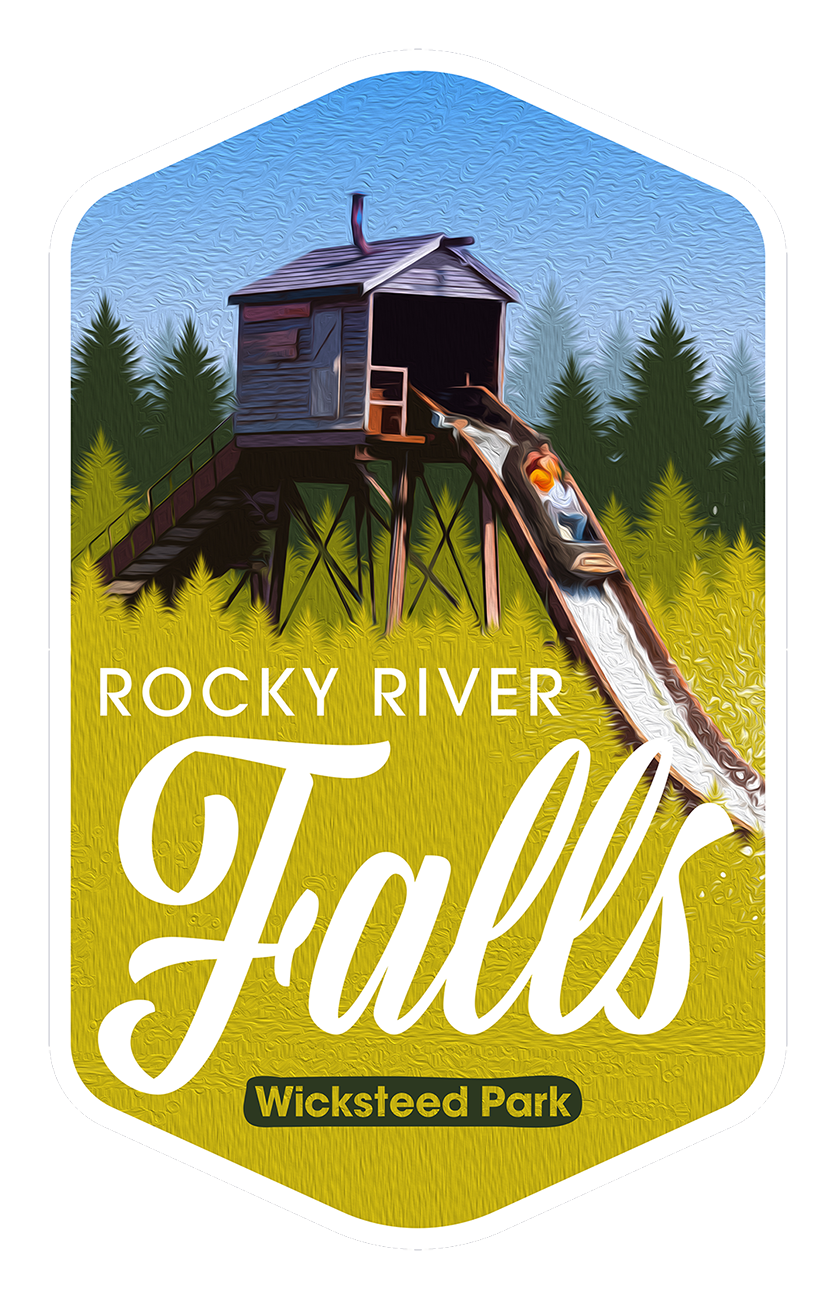 Rocky River Falls - Wicksteed Park Rides and a Attractions