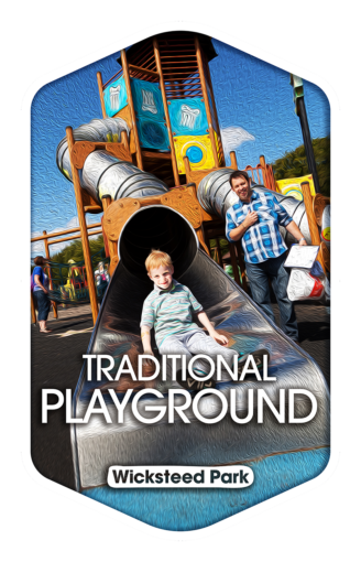Traditional Playground - Wicksteed Park Rides and a Attractions