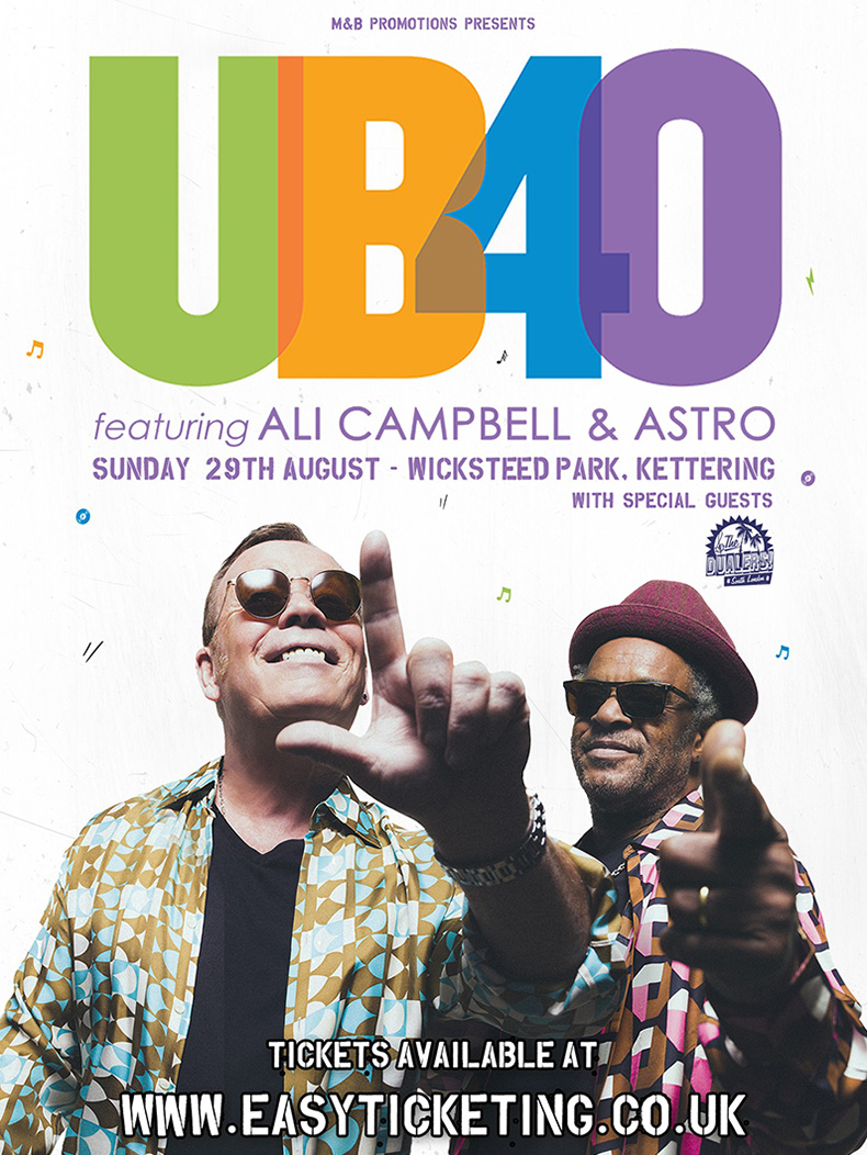 UB40 - LIVE AT WICKSTEED