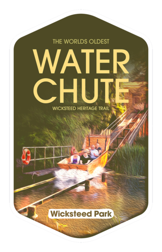 Water Chute - Wicksteed Park Rides and a Attractions